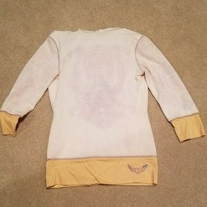 Terry Cloth swim cover up hoodie
